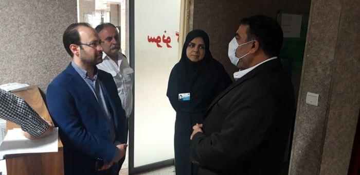 فرماندار شمیرانات از کادر درمان بیمارستان شهدای تجریش قدردانی کرد