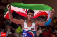 کمیته ملی المپیک کسب مدال طلا و سهمیه المپیک فرنگی کاران کشورمان را تبریک گفت