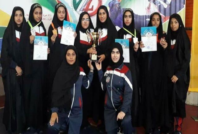 دختران کونگ فو کار سیستان و بلوچستان نائب قهرمان کشور شدند
