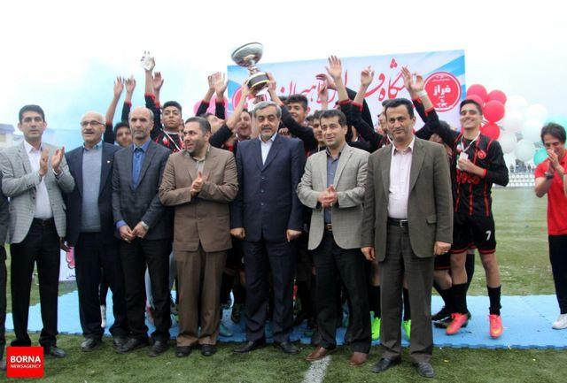 قهرمانی فراز لاهیجان در جام نوجوانان استان گیلان