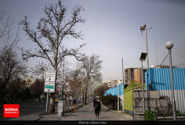 امروز هوای تهران برای گروههای حساس ناسالم است