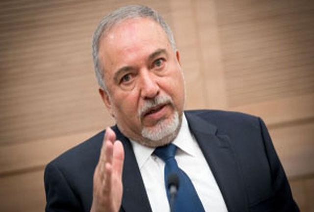 لیبرمن پیش از استعفایش به صورت محرمانه با مقامات فلسطینی دیدار کرده بود