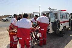 به 108 نفرحادثه دیده درالبرز امداد رسانی شده است