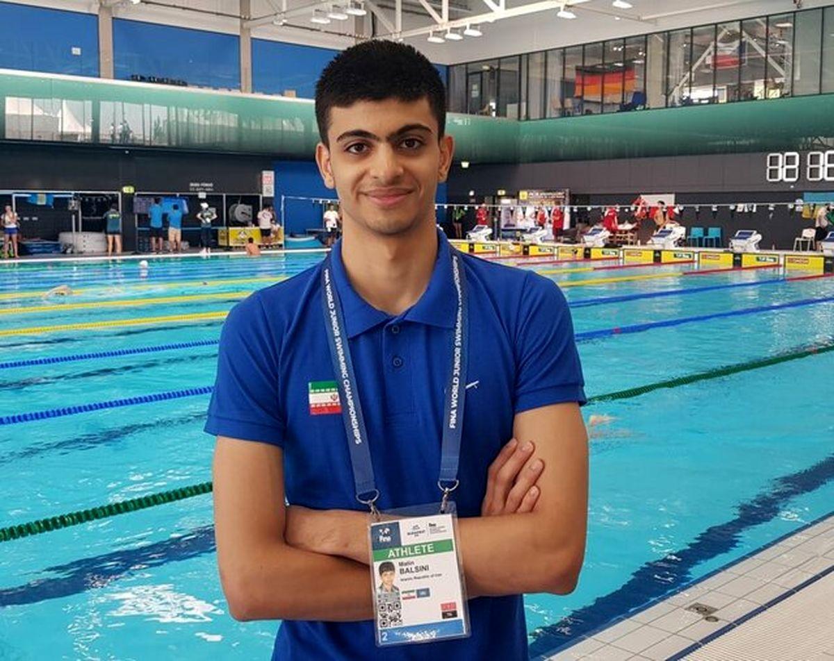 تلاش میکنم در المپیک توکیو، رکورد شنای ایران را ترقی دهم