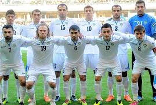 ازبکستان با 4گل ترکمنستان را شکست داد