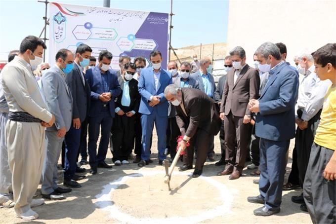 کلنگ زنی پروژه ساخت 374 واحد مسکونی در کامیاران