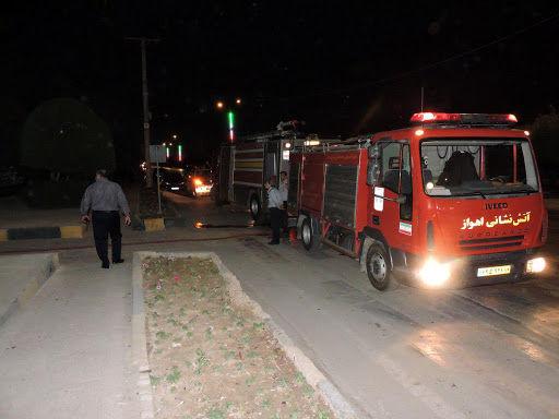 ۳۳ ماموریت اطفای حریق در چهارشنبه سوری اهواز انجام شد