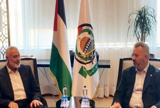 دیدار هنیه و مقام ترکیهای/ رایزنی درباره چالشهای فلسطین