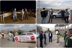 مسدود شدن مسیرهای اصلی و روستایی بخش مرکزی قزوین