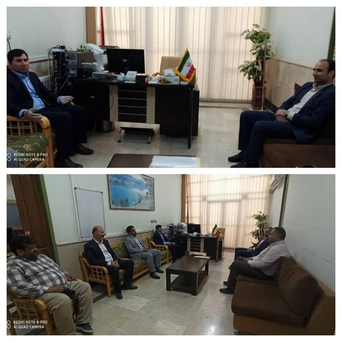 دیدار مدیرکل ورزش و جوانان با مدیرکل روابط عمومی استانداری ایلام