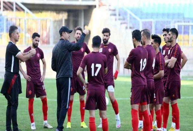 مینی فوتبال پرسپولیسیها پس از تساوی در مشهد!