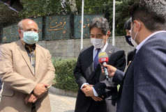 بازدید سفیر ژاپن در ایران از پایگاه واکسیناسیون مستقر در مجموعه فرهنگی تاریخی نیاوران