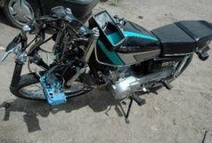 یک کشته و 3 زخمی حاصل برخورد 3 دستگاه موتورسیکلت