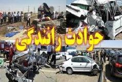6 کشته ومجروح در سانحه رانندگی محور زابل- زاهدان
