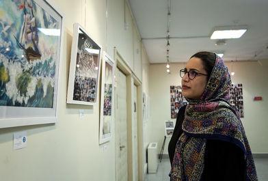 نمایشگاه نقاشی قصه های رنگی اثر