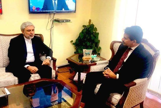 رایزنی مقامات وزارت خارجه ایران و پاکستان درباره توسعه مناسبات