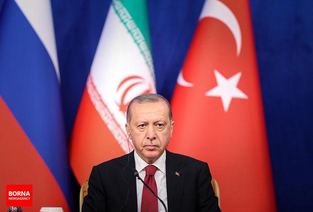 اردوغان: تابع تحریم ایران نمیشویم
