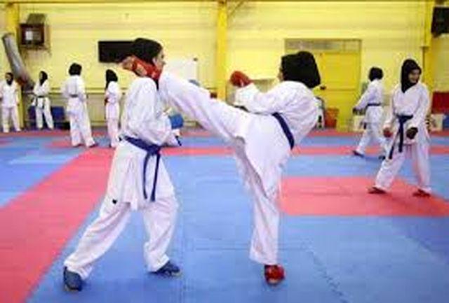 درخشش بانوان کاراته کای رودباری در اولین دوره مسابقات کاراته آزاد بانوان گیلان