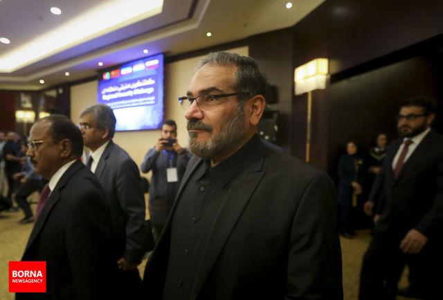 دبیر شورای عالی امنیت ملی: کنفرانس امنیتی منطقه بهصورت سالیانه برگزار خواهد شد