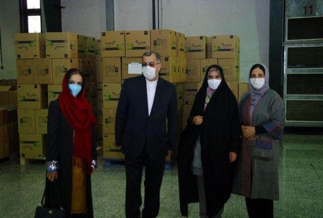 نخستین محموله کمکهای بهداشتی برای حمایت از کودکان کمبرخوردار توزیع شد