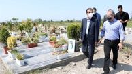 بازدید سرزده شهردار رشت از سازمان مدیریت آرامستانهای شهرداری