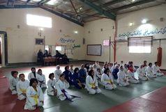 برگزاری مسابقات جودو خردسالان به مناسبت هفته تربیت بدنی