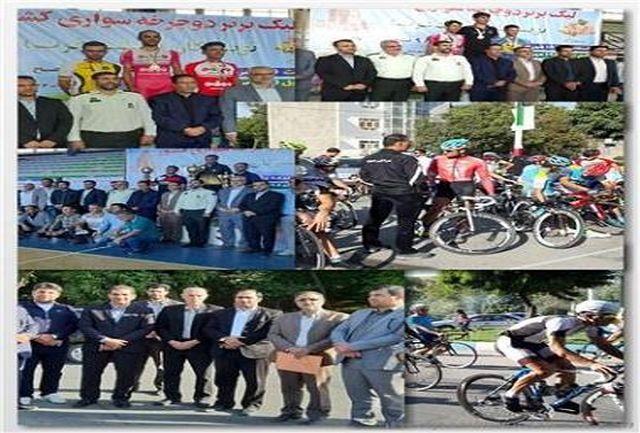 سپاهان اصفهان قهرمان لیگ برتر دوچرخه سواری در تویسرکان