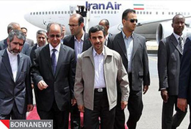 در جریان سفر به نیویورک/ رییس جمهور در موریتانی توقف کرد