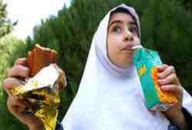 لیست موادغذایی غیرمجاز در مدارس اعلام شد