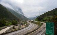 آزاد راه تهران شمال تا 3 آبان ماه مسدود است