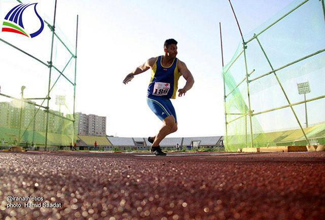 نایب قهرمانی پرتابگر استان مرکزی در رقابتهای قهرمانی کشور