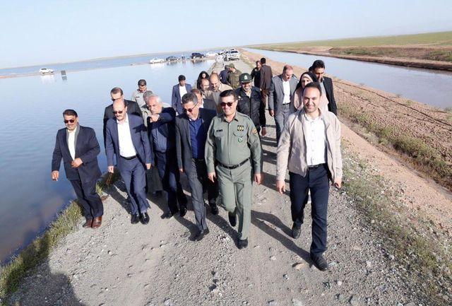 نقش احیای تالاب اللهآباد در کاهش ریزگردهای دشت قزوین
