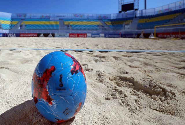 تمرین رسمی تیم ملی فوتبال ساحلی برگزار شد