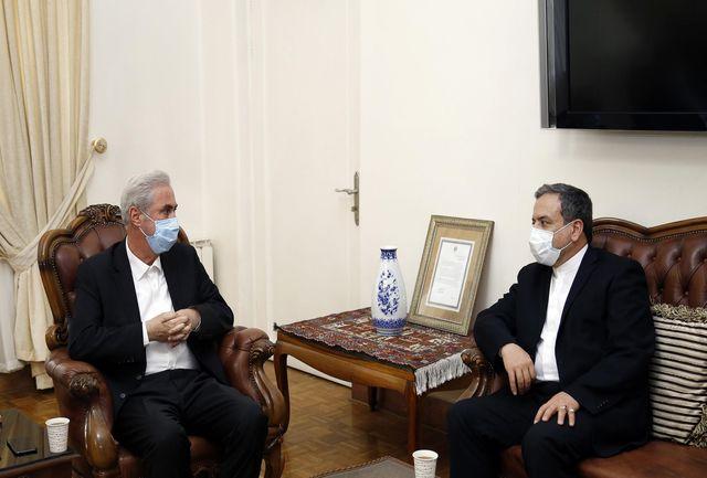 در سفر به باکو حامل پیشنهاد ابتکاری جمهوری اسلامی ایران برای حل مسالمتآمیز جنگ میان دو همسایه هستم