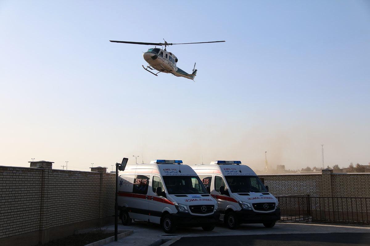 دو دستگاه آمبولانس به اورژانس زابل اهدا شد