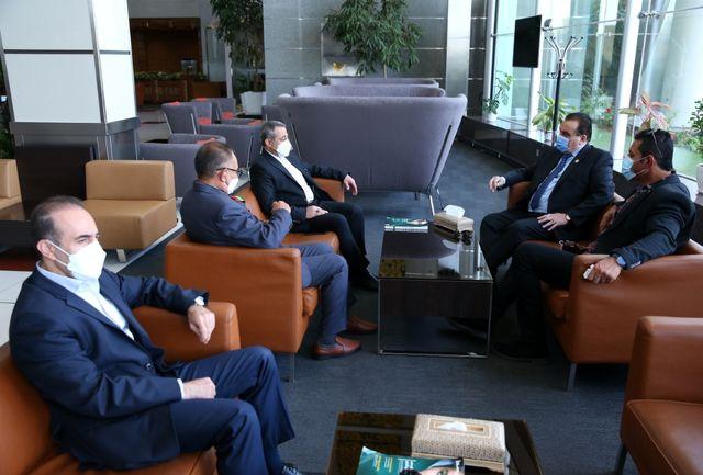 رئیس، نایب رئیس و دبیرکل کمیته ملی المپیک افغانستان وارد تهران شدند