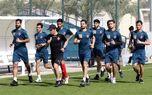 پیگیری تمرینات تاکتیکی سرخپوشان در ورزشگاه شهید کاظمی