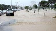 جاری شدن سیلاب محلی و نقطهای در مازندران