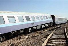 شنهای روان قطار مسافربری کرمان – زاهدان را از ریل خارج کرد/ با تلاش مامورین فنی محور بازگشایی شد