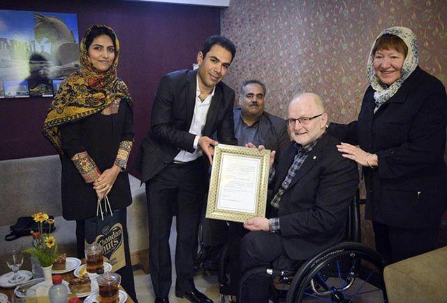 گلبارنژاد: حضور فیلیپ کریون در شیراز افتخار بزرگی است