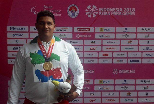 اولاد با کسب مدال طلا و آرخی با عنوان چهارم پارالمپیکی شدند