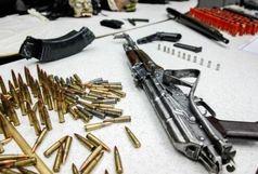 کشف ۶ قبضه سلاح غیر مجاز از ۶ نفر