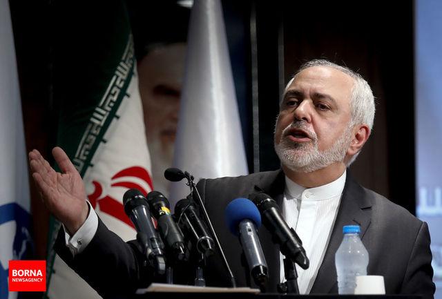 توییت ظریف در خصوص ترور شهید فخری زاده به زبان روسی