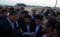 وزیر راه و شهرسازی از روند احداث جاده دارخوین- شادگان –خوردورق بازدید نمود