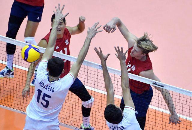 شکست تیم ایران مقابل آمریکا در گام ششم