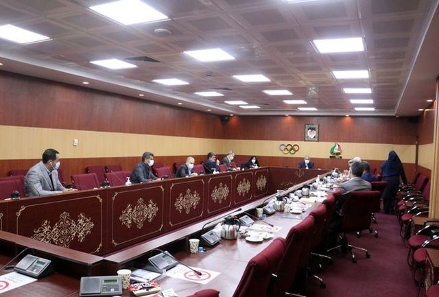 هفتادو پنجمین نشست هیات اجرایی کمیته ملی المپیک برگزار شد