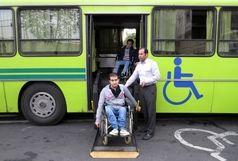 ۱۳۶ اتوبوس و وَن مناسبسازیشده در خدمت جانبازان پایتخت