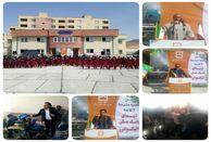 افتتاح مدرسه۶کلاسه شهدای بانک مسکن در الیگودرز