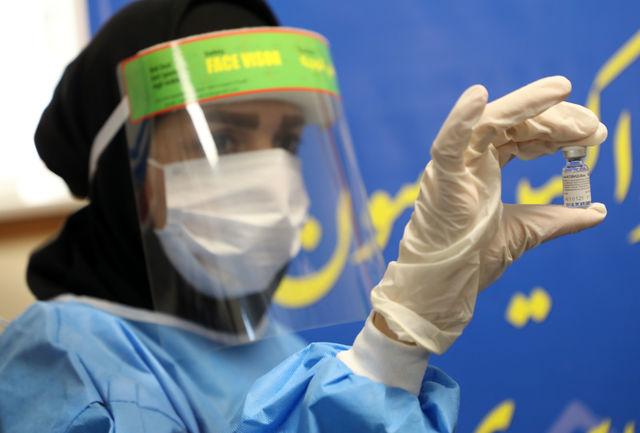 تزریق نخستین واکسن روسی کرونا در بیمارستان امام رضای تبریز