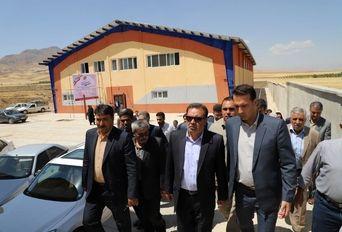 افتتاح سالن ورزشی زاغه به مناسبت هفته دولت